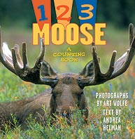 1, 2, 3 Moose - a Counting Book