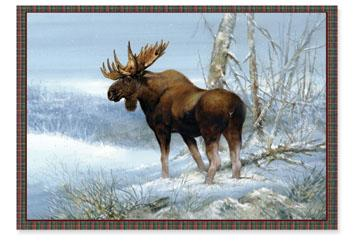 Christmas Cards: North American Big Game