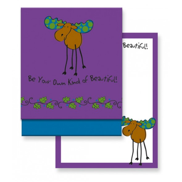 Matchbook Memo Purple Moose