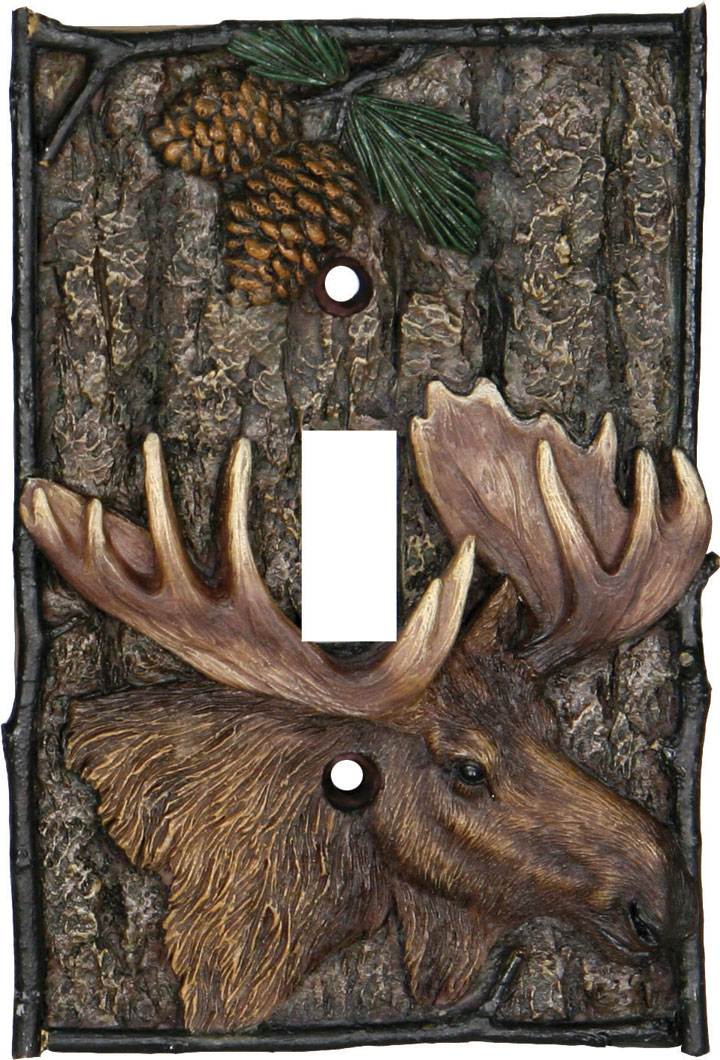 Moose Single Switch Cover - Click Image to Close