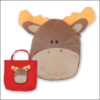 Tiny Tote Moose Tote Bag