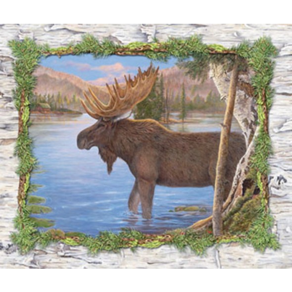 Majestic Moose Lens Cloth