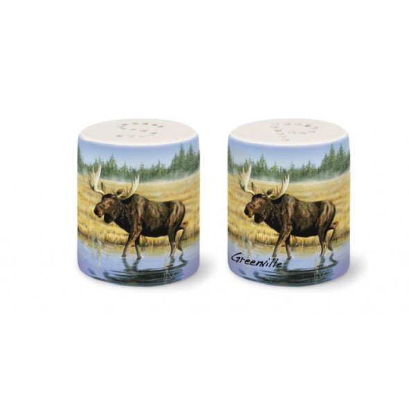 Salt & Pepper Set - Salt Water Moose
