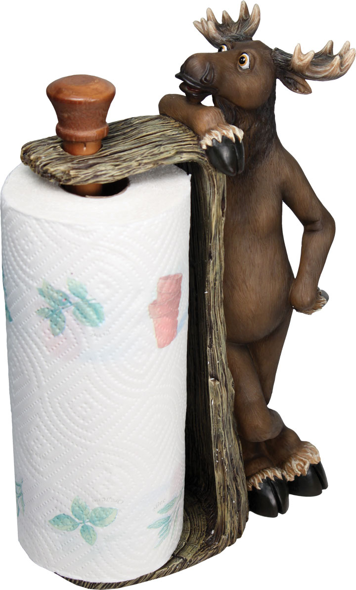 Moose Paper Towel Holder
