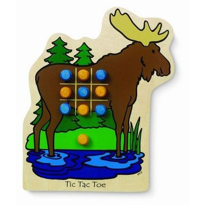 Tic Tac Toe Moose Game