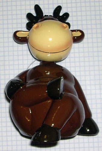 Bobble Head Moose Bank