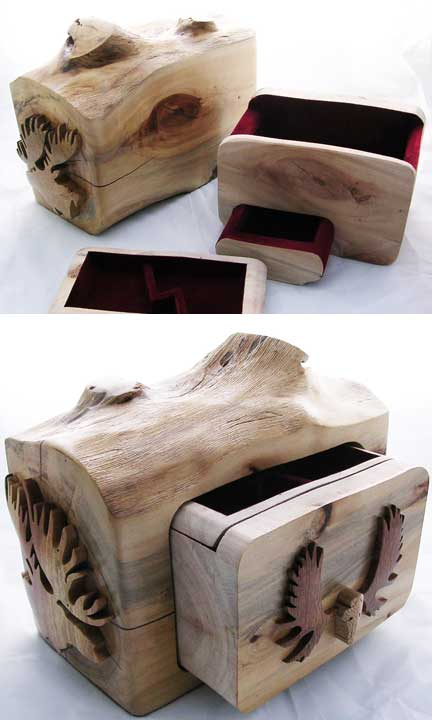 Beautiful Custom Wooden Box - A