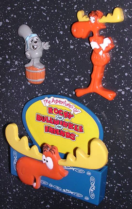 Bullwinkle 3 Piece Fridge Magnet Set