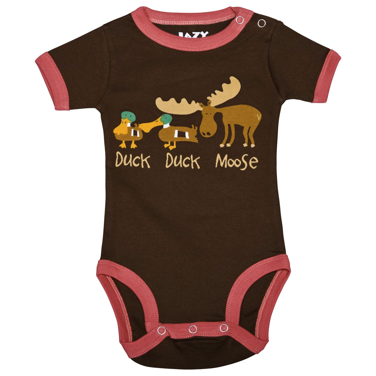 Duck Duck Moose Pink Creeper 12 Month