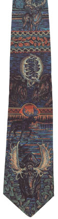 Native Moose Neck Tie