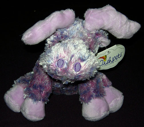 "7"" Soft Purple Rainbow Moose"