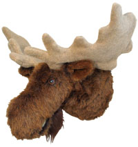 Jack - XX-Large Moose Trophy Mount - Click Image to Close