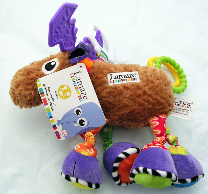 Lamaze Mortimer Moose Play and Grow Baby Toy - Click Image to Close