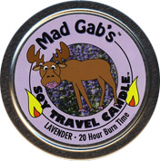 Mad Gab's Lavender Soy Travel Candle