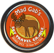 Mad Gab's Orange Slice Soy Travel Candle