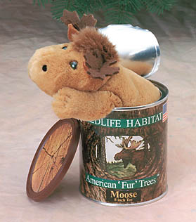 Wildlife Habitat Canned Moose