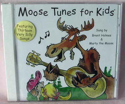 Moose Tunes for Kids CD