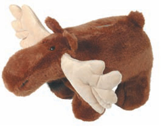 Plush Moose Coin Bank