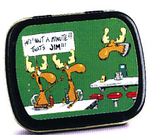 That's Jim! Mint Tin