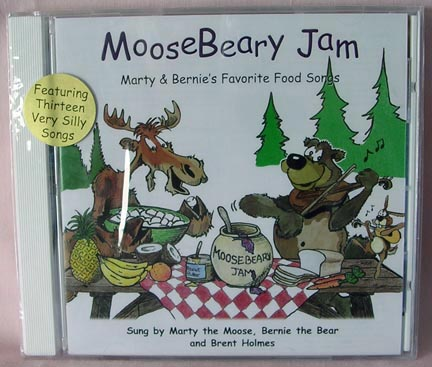 MooseBeary Jam CD