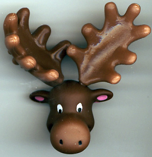 Moose Pencil Topper