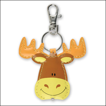 Bright Lights Key Chain Moose