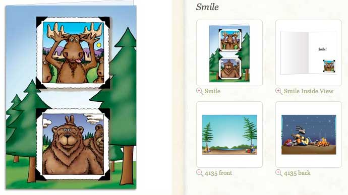 Smile... Blank Greeting Card