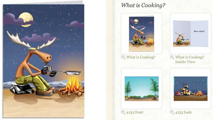 What's Cooking... Greeting Card