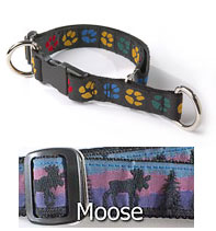 3/4 Inch Limited Slip Collar with Moose Pattern