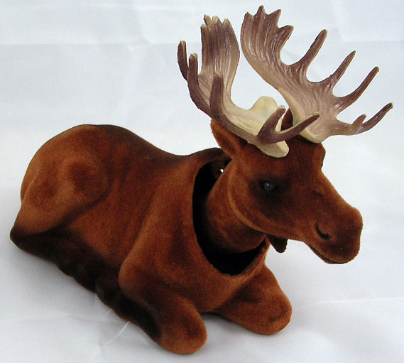 Bobble Head Moose - Click Image to Close
