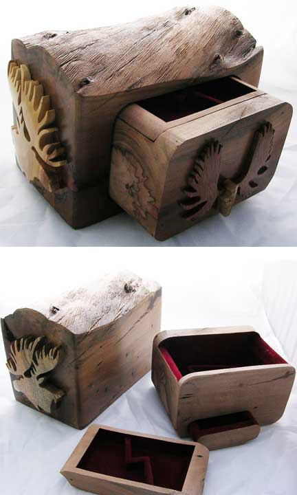 Beautiful Custom Wooden Box - C