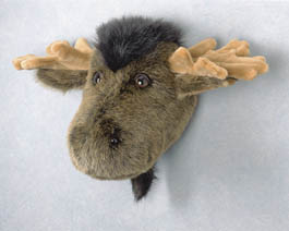 Large Natural Wall Toy Mount