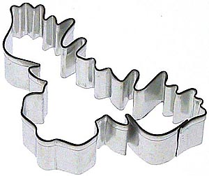 Moose Head Cookie Cutter - Click Image to Close