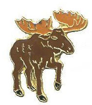 Moose Lapel Pin