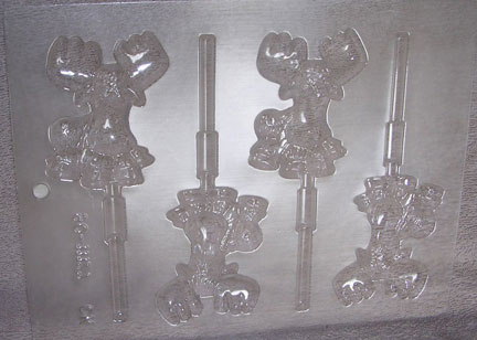 mould small Penis Assembly, Small Adult Chocolate Mold