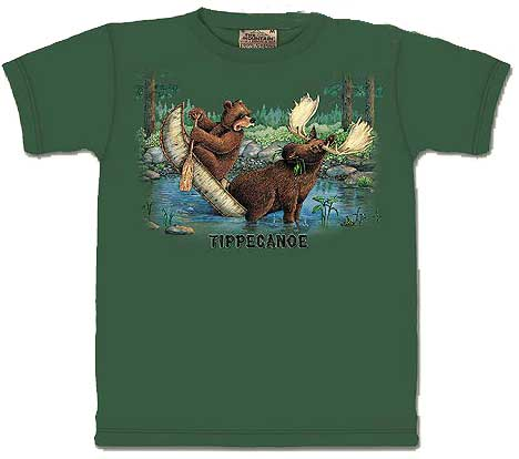 Children's Shirt - Tippecanoe!
