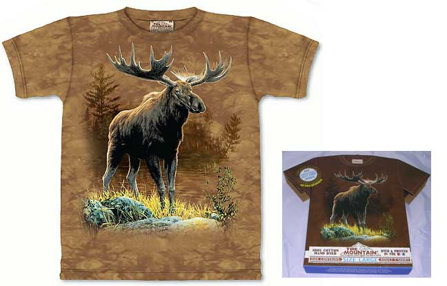Northwoods Moose Shirt - Large