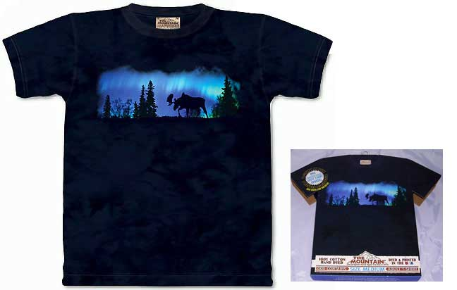 Moose Lights Shirt - Medium
