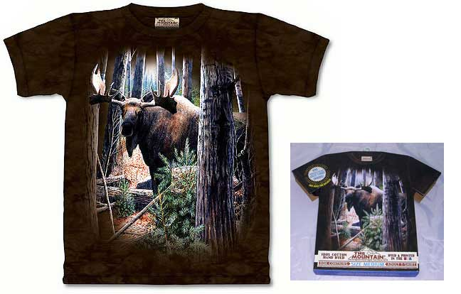 Woodland Sentry Moose Shirt - Large
