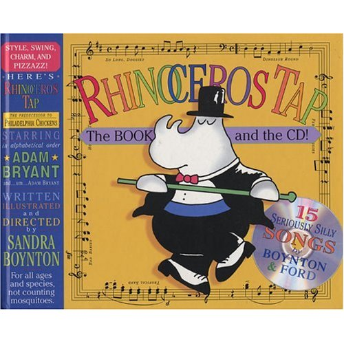Rhinoceros Tap by Sandra Boynton Book & CD